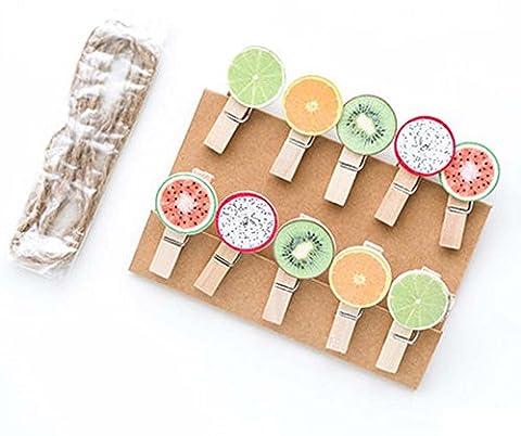 Frucht Puppen Form Kleine hölzerne Clip / Creative Diy Kleine Clip