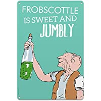 Roald Dahl The Big Friendly Giant Frobscottle Metal Sign, Tin, Multi-Colour, 30 x 20 x 1 cm preiswert