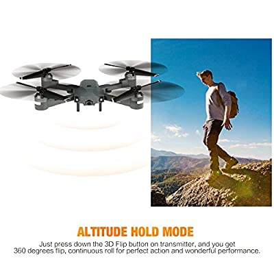 Lovelysunshiny Attop XT-1 WIFI FPV Drone Altitude Hold Foldable RC Quadcopter with Camera