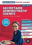 Réussite Concours - Secrétaire administratif-SAENES - Catégorie B - 2018-2019 - Préparation complète...