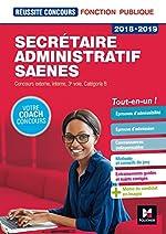 Réussite Concours - Secrétaire administratif-SAENES - Catégorie B - 2018-2019 - Préparation complète de Yolande Ferrandis