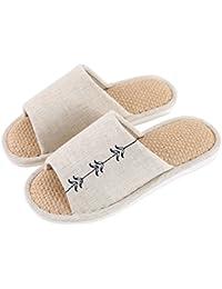 YMFIE Donna pantofole ciabatte sandali schiuma morbida schiuma suole piscina calzature e scarpe da bagno,40-41,nero