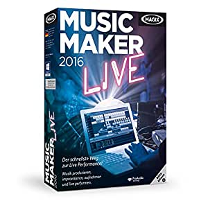 Magix Music Maker 2016 Live Amazon De Software