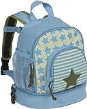 Lässig Mini Backpack Kinderrucksack Kindergartentasche, Brotdosenfach unten, Starlight Olive