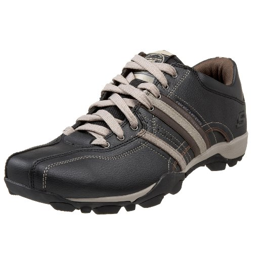 Skechers Urban Tread - Refresh, Men's Fashion Trainers Mens, Black/Taupe, 10 UK...