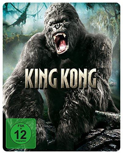 King Kong - Steelbook (exklusiv bei Amazon.de) [Blu-ray] [Limited Edition] -