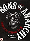Sons of Anarchy: Season 1-4 [16 DVDs] [UK Import]