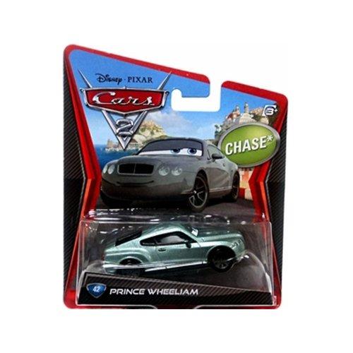 Disney Pixar Cars 2 Chase Prince Wheeliam # 42 - Véhicule Miniature - Voiture