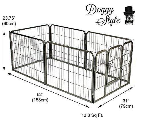 Doggy-Style-Heavy-Duty-Puppy-Play-Pen-playpen-6-x-panel-whelping-pen-pens-x-4-sizes