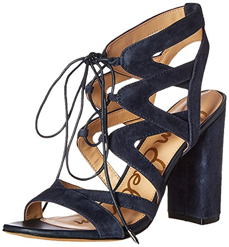 Sam Edelman Sandalen Yardley Wildleder Schwarz Navy