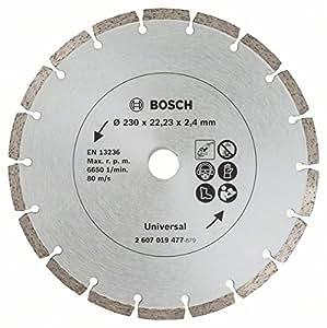 Bosch 2 disques diamant pour matériaux de construction 230 mm