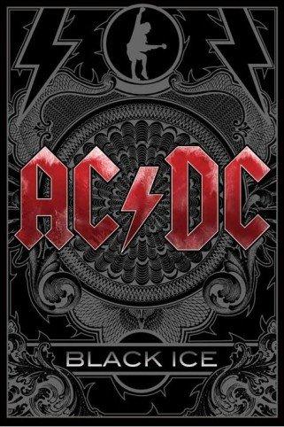1art1® 42965 AC/DC - Póster de Black Ice (91 x 61 cm)
