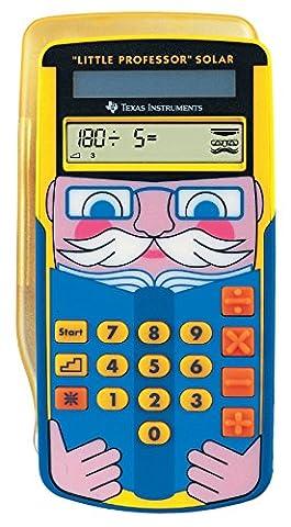 Texas Instruments LPROFSOLAR Little Professor Calculatrice solaire