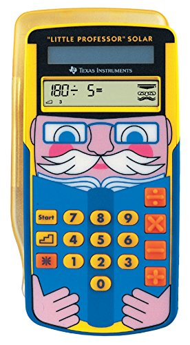 Texas Instruments LPROFSOLAR Little Professor Solar Rechentrainer