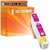 Gorilla-Ink® 1x Tinten-Patrone XXL GI2433 Magenta kompatibel zu Epson Expression Photo XP-55 XP-750 XP-760 XP-850 XP-860 XP-950 XP-960