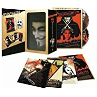 V Per Vendetta 2 DVD Limited Gift Edition With Mask