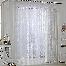 suchergebnis auf amazon.de für: gardinen wohnzimmer modern weiss - Gardinen Modern Weis
