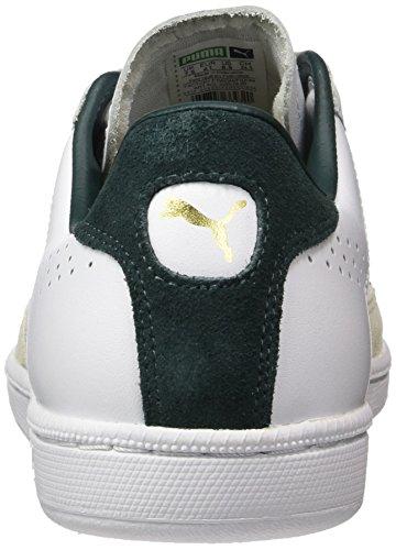 Puma Match 74 UPC, Baskets Mode Mixte Adulte Blanc (White-green Gables)