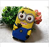 Oppo A37/A37F Back Cover - WPRIE Printed 3D Cartoon Minion Soft Rubber Silicone Back Cover Case For Oppo A37 Back Cover