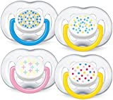 Philips AVENT Soother Contemporary 6-18m - SCF180/24 - Colour/Design May Vary (1 PACK, 2 SOOTHERS)