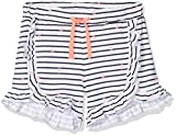 NAME IT Baby-Mädchen Nmfderla Shorts, Weiß (Bright White), 98