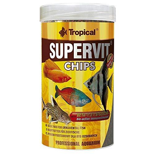 TROPICAL Supervit Chips pour Aquariophilie 250 ML - Lot de 2
