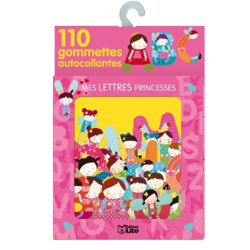 Ma Boite à Gommettes : Mes Lettres Princesses - De 3 à 5 ans