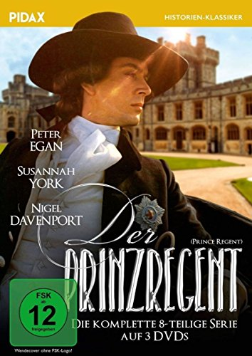 Der Prinzregent (Prince Regent) | Die komplette 8-teilige Serie über das Leben des George IV. (Pidax Historien-Klassiker) [3 DVDs] - Regent Cd