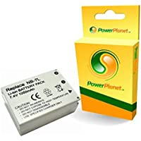 PowerPlanet - Batterie de rechange pour appareil photo numérique Canon NB-7L - garantie de 2 ans - pour Canon PowerShot G10, G11, G12, SX30 IS