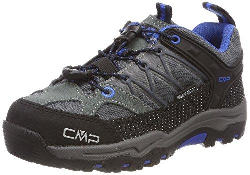 CMP Unisex-Kinder Rigel Trekking-& Wanderhalbschuhe, Grau (Grey-Zaffiro), 29 EU