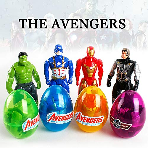 Marvel Avengers Superhero Action Figures Party Favours Easter Eggs or Stocking Fillers Toys for Kids Toddlers