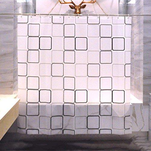 ZBB Badezimmer Duschvorhang Dicken Vorhang Erru Warm und Wasserdicht zu Halten, Um Den Test der ildewproof WC Partition (Wasserdicht Größe: 200 cm * 200 cm)