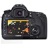 atFoliX Película Protectora Canon EOS 5D Mark III Lámina Protectora de Pantalla - Set de 3 - FX-Antireflex anti-reflectante