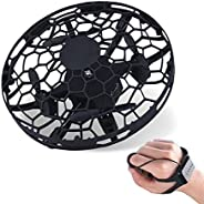 Mini Drone for Kids or Adults, Hand Controlled Drone, Easy Indoor Helicopter Toy with 360°Rotating, LED Light,