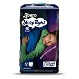 Libero Sleep Tight Night Time Protection Bedwetting Large 35-60kg Pack of 12