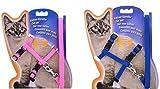 2 arnés para mascotas ajustables para gatos con forma de conejos de dragón y cobaya.