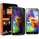 Spigen Glas.tR Slim Film de protection pour Samsung Galaxy S5 Rouge