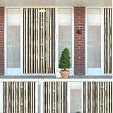 Kingfisher®, tenda a rullo antimosca e contro gli insetti con effetto bambù di perline in legno