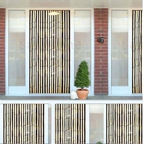 Kingfisher® Effet bambou Rideau Stores en bois Perles insectes Fly Porte écran dépistage