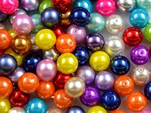 lot-de-30-coussinets-tcheque-perles-avec-un-revetement-perles-estrela-rondes-8-mm-mix-couleurs-paste