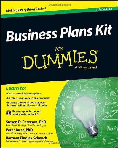 Business Plans Kit For Dummies by Steven D. Peterson (2013-12-09)