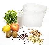 Nussmilchbeutel,Nussbeutel,Filterbeutel,Perfekte Filtration 200 Micron,BPA-frei,Robust / Ökologisch / Wiederverwendbar, Schnelles Reinigen und Trocknen,bereitet organische Mandel- / Haselnuss- / Fruchtmilch, vegetarische Lieblinge vor. (lot de 1)