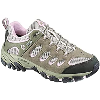 Merrell Women's Ridgepass Waterproof Low Rise Hiking Shoes 7