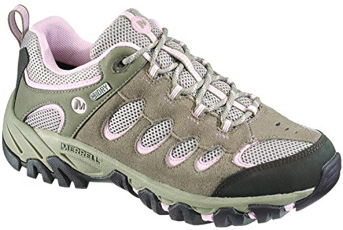 Merrell Ridgepass, Women's Lace-Up Low Rise Hiking Shoes - Brindle/P. Lilac, 5...