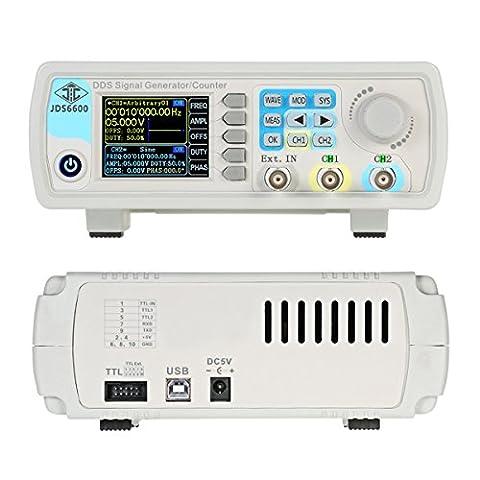 HB Générateur Source de signal, 40mhz, forme d'onde Arbitraire Générateur de signal Pulse Source de signal Fonction double canal