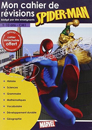 Cahier Révision Spider-Man (9/10 Ans)