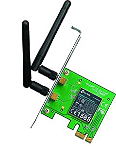 TP-LINK TL-WN881ND 300 Mbps Wireless N PCI Express Adapter with Two Antennas