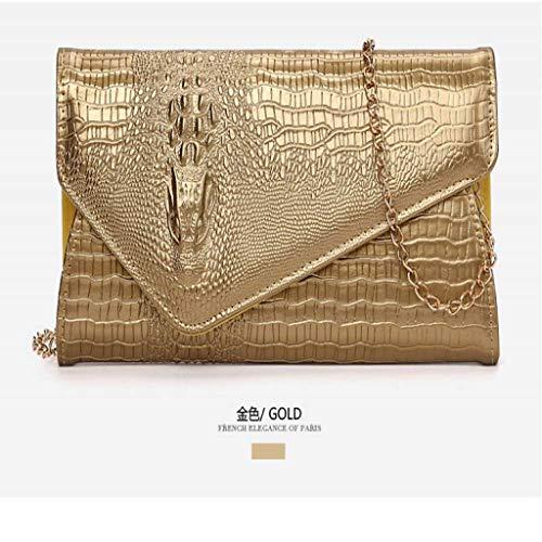 SCDSNB Echte italienische Wildleder große Umschlag geformte Clutch Handtasche Handtasche Prom Clutch (Farbe : C) -