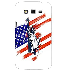 PrintDhaba Statue Of Liberty D-5954 Back Case Cover for SAMSUNG GALAXY GRAND 2 (Multi-Coloured)