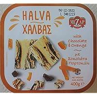 MeZap Classic Halva Griega con Chocolate y Naranja 400g